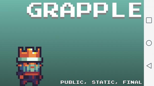 Grapple title screen